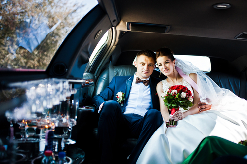 when to book wedding transportation
